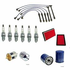 Tune UP Kit for Nissan Pathfinder Frontier Spark Plug Wires Filters 3.3L V6