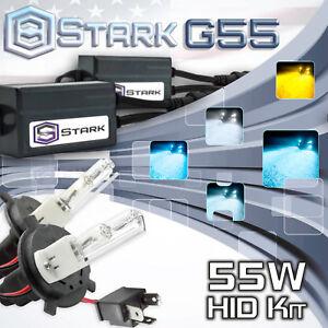 Stark 55W MICRO Slim HID Head Light Xenon Kit Dual Hi / Lo - H4 HB2 9003