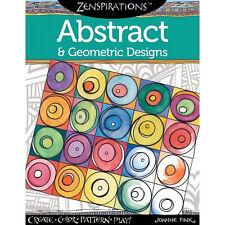Zentangle Zenspirations - Abstract & Geometric Designs Coloring Book