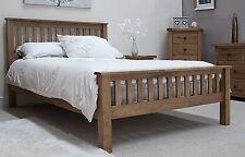 Brooklyn solid oak bedroom furniture 5' king size bed