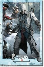 2012 UBISOFT ASSASSINS CREED 3 COLLAGE POSTER 22x34 FREE SHIPPING