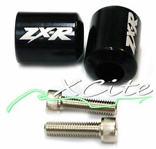 Black barends bar ends Kawasaki Ninja250 ZX636 ZX6 ZX6RR ZX7 ZZR600 #BE012#