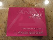 AVON Anew Vitale Night Cream Samples Pkg  Box   of 5