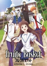 DVD Anime Fruits Basket (2019) Complete TV Series (1-25 End) English Subtitle