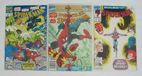 LOT OF (3) SPECTACULAR SPIDER-MAN ANNUAL #11 SPIDERMAN #22 #25 Marvel COMICS