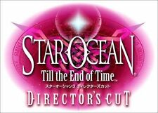 Used PS2  Star Ocean 3 Director's Cut SONY PLAYSTATION JAPAN IMPORT