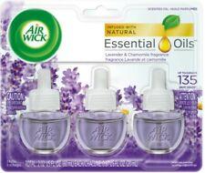 Air Wick Scented Oil , Lavender and Chamomile Scent, Triple Refills, 0.67 oz