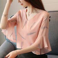 Blusas De Moda Para Mujer Tops Casuales Camisas Elegantes Blusa De Mujeres Ropa