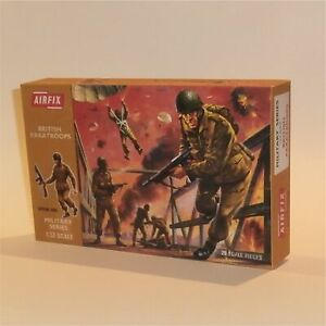 Airfix Empty Repro Box  British Paratroopers Paratroops 1:32 Scale #1712a