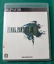 Final Fantasy 13/XIII - Japanese Edition - sony playstation 3 game - ps3 - vgc