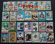 HUGE 1968 1969 1970 1971 78 79 - 80s TOPPS FOOTBALL CARD LOT (1500) w/ HOF  POOR