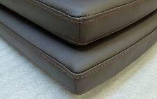 Sitzkissen, Bank-/Stuhlauflage in Leder nach Maß bis 38 x 38 cm in vielen Farben