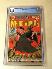 WEIRD WORLDS #4 CGC 9.8 TOP GRADED, none nicer! JOHN CARTER WARLORD OF MARS 1973