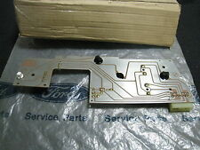 XF FALCON GENUINE FORD NOS INSTRUMENT CLUSTER CIRCUIT BOARD ASSY