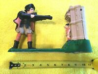 William Tell Shoots the Apple Off Boy Collectible Cast Iron Mechanical Bank