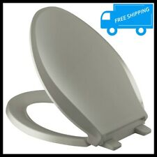 Cashmere Elongated Toilet Seat Closed Front Grip Tight Bowl Slow Quiet Close Lid