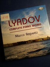 Audio CD Box set. Brilliant. Lyadov. Complete Piano Works. Rapetti.