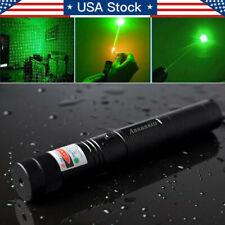 990Miles 2In1 Green Star Beam Laser Pointer Pen Professional Lamp Assassin Lazer
