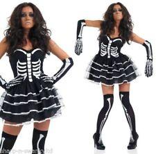 Costumi e travestimenti horror nero senza marca per carnevale e teatro da donna