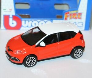 Burago RENAULT CLIO SPORT Model Scale 1:32 new boxed free post