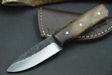 Mittelaltermesser Wikinger Larp Messer Carbon Stahl Taschenmesser Handarbeit #47