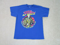 WWE Ric Flair Shirt Adult Large Blue Yellow WWF Wrestler Wrestling Mens A30 *