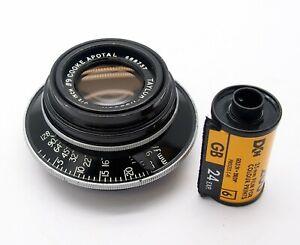 Taylor Hobson 9.5 Inch F9 Cooke Apotal Large Format Lens - UK Dealer