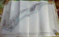 Carte Hydrographique & Océanographique de la Marine 1956 Cap d'Agde Sète Palavas
