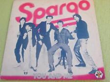 DISCO LP 45 GIRI - SPARGO - YOU AND ME