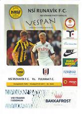 Other Football European Club Fixture Programmes