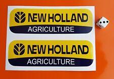 2 x NEW HOLLAND Adesivi Decalcomanie 150 mm x 45 mm TRATTORE AGRICOLTURA