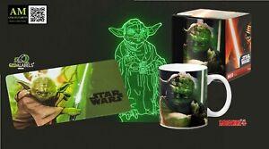 Star Wars - Frühstückbrettchen & Tasse - Yoda - Neuf / Emballage D'Origine