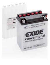 Batterie moto Exide YB14L-B2 EB14L-B2 12V 14AH 180A 135X90X165MM ACIDE COMPRIS