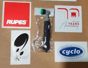 RUPES Ibrid Nano Big Foot Polisher Key Chain stickers Flex Orbital Detailing Toy