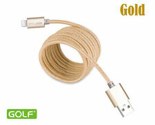 GOLF 1M 2M 3M 8 Pin USB Lightning Data Charger Cable For iPhone 6 6S 5S 5 iPad 5
