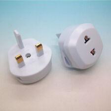 Useful Fitting US/EU to UK AC Power Plug Travel Home Converter Adapter IU