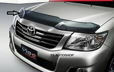 FOR NEW TOYOTA HILUX VIGO CHAMP 2012 BLACK BUG INSECT SHIELD GUARD GENUINE