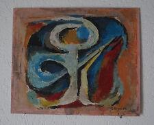 L. ZEILINGER  (1897/1990) HSP   - COMPOSITION ABSTRAITE 1969  - Signé