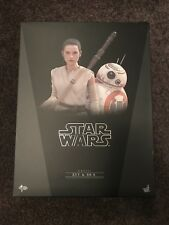 1/6 Scale Hot Toys Rey And BB8 Star Wars The Force Awakens BNIB