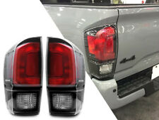 New Black TRD PRO Rear Tail Light Lamp Pair For 2016-17 Toyota Tacoma All Models
