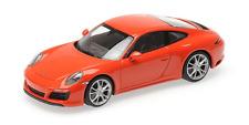 1:43 MINICHAMPS 2018 PORSCHE 911 991 Carrera S lava orange PMA EXCLUSIVE LE 100