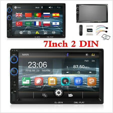 2 DIN 7inch Car Stereo Radio MP5 FM Player AUX Android Mirror Link Touch Screen