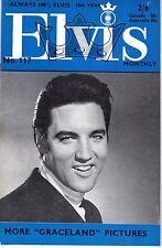 ELVIS 117 ANNEE 1969 (EN ANGLAIS) MYTHIQUE TRES RARE SUPERBES PHOTOS TBE