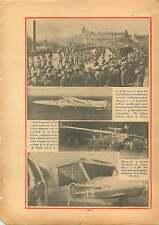 Avion Couzinet 70 L'Arc en Ciel de Jean Mermoz Atlantique-Sud 1934 ILLUSTRATION