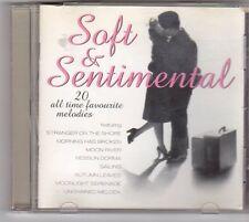 (ES686) Soft & Sentimental, 20 tracks various artists - 1997 CD