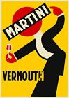 Vermouth Martini Bar Art Advertising Vintage Poster, Print or Canvas