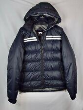 $950 Mens Canada Goose Summit Parka Black Jacket Size L Large Puffer Down Coat