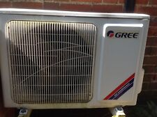 GREE HEAT PUMP INVERTER SPLIT AIR CONDITIONING CONDITIONER WALL MOUNT (used)