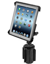 RAM Tab-Tite Holder with RAM-A-CAN II Cup Holder Mount for iPad 1-4