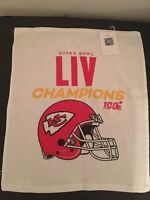 Kansas City Chiefs NFL Super Bowl LIV (54) Champions Rally Towel